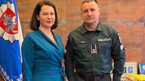 Su mere aptartas Lazdijų r. policijos komisariato patalpų klausimas