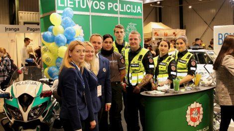 """Paroda """"Studijos 2020"""": sužinok viską apie policijos pareigūno profesiją"""