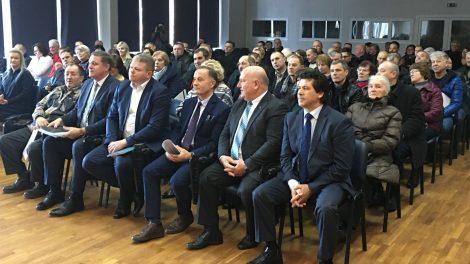 Ministras Panevėžyje diskutavo su ūkininkais
