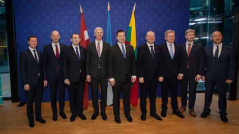"""Baltijos šalių susisiekimo ministrai sutarė – """"Rail Baltica"""" turi būti baigta 2026 metais"""