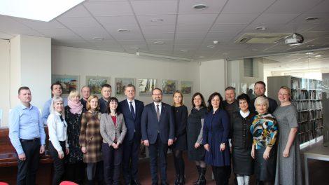 Kultūros ministras Telšiuose domėjosi regiono aktualijomis ir kultūros paveldu