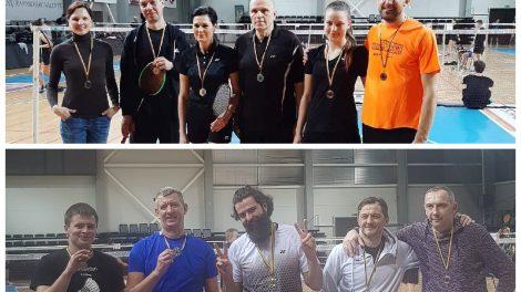 Badmintono varžybos: raseiniškiai pildo medalių lentyną