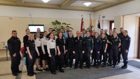 Pirmieji Lietuvos policijos mokyklos kursantų įspūdžiai iš stažuotės Vokietijoje