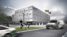 MERKO pradeda Kauno apskrities VPK pastato statybas