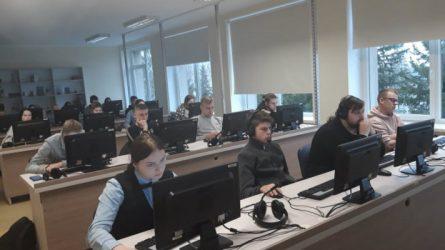 Alytaus profesinio rengimo centre anglų kalbos mokomasi kitaip