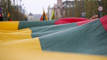 Ministro A. Monkevičiaus sveikinimas Vasario16-osios proga