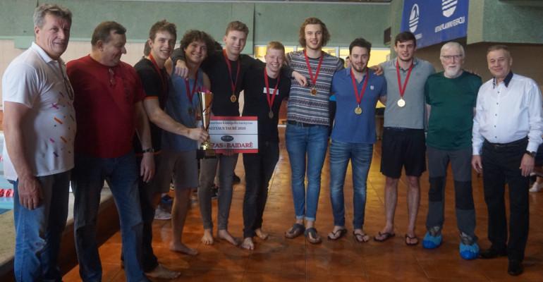 """Taurę iškovojo """"Viking"""" komanda iš Olandijos"""
