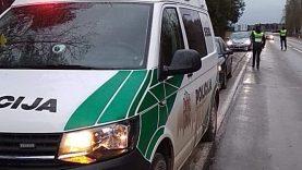 Policija nuolat dirba dėl saugumo keliuose