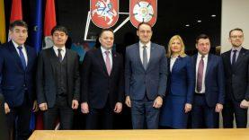 Su Kazachstano Respublikos ambasadoriumi – apie verslą ir ekonominius rodiklius
