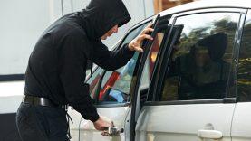 Pavogtas automobilis surastas anksčiau, nei gautas pranešimas apie jo vagystę