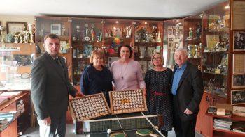 Stalo teniso kamuoliukų muziejaus kolekcija Joniškyje – viena iš unikaliausių ekspozicijų