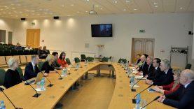 """Rita Tamašunienė: """"Mūsų tikslas – bendradarbiauti ir prisidėti prie Visagino plėtros skatinimo"""""""
