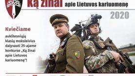 """25-asis konkursas """"Ką žinai apie Lietuvos kariuomenę"""""""