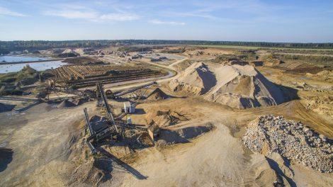 Lietuvoje didėja bendra naudingųjų iškasenų gavyba