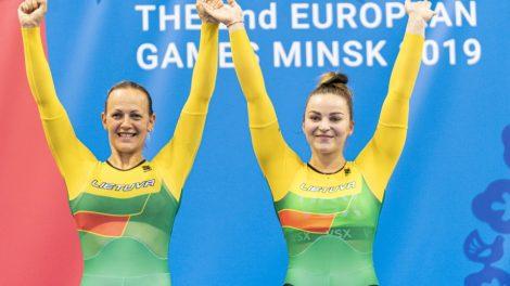 S. Krupeckaitė ir M. Marozaitė iškovojo olimpinius kelialapius