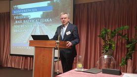"""Susisiekimo ministras J. Narkevičius: """"Projektas """"Rail Baltica"""" – puiki perspektyva Panevėžio regionui"""""""