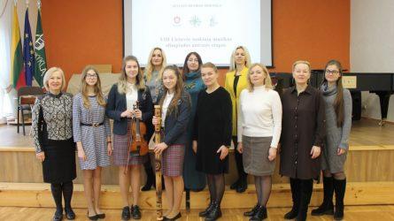 Muzikos mokykla pasitiko aštuntosios Lietuvos mokinių muzikos olimpiados II etapo dalyvius