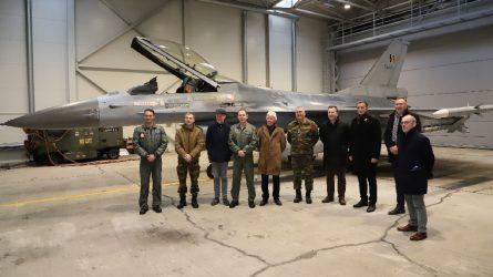 Šiaulių meras susitiko su NATO kariais ir Belgijos merais