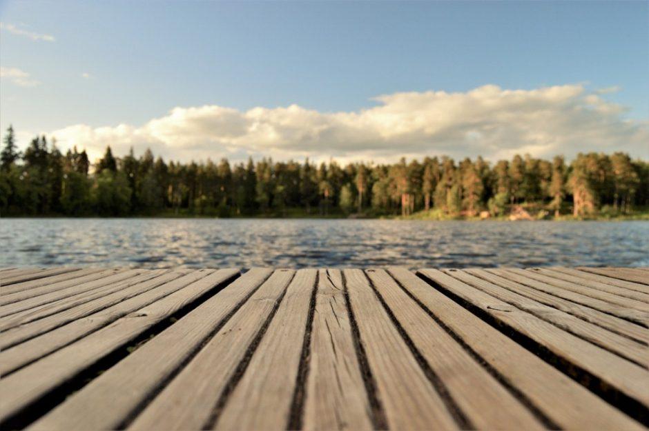 Kuo ypatingas poilsis prie ežero?