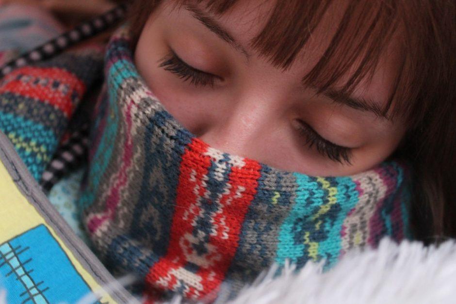 Kauno mieste skelbiama gripo epidemija