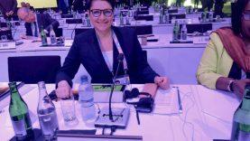 LTOK prezidentė D. Gudzinevičiūtė: apie darbą kelionėse, įtemptą dienotvarkę ir saugiausią vietą lėktuve