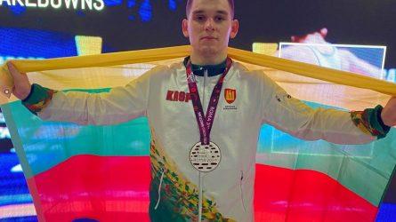 Europos imtynių čempionate – Kristupo Šleivos bronza