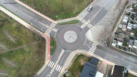 Žiedinė sankryža pagerino eismo saugumą Kuršėnuose