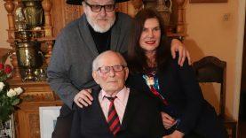 Šiaulių miesto garbės piliečiui Alfonsui Stakėnui – 95-eri!