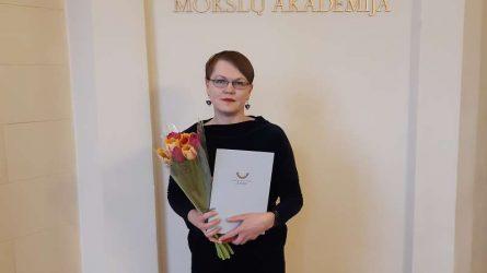 Už Lietuvių kalbos dienų renginius Joniškio rajono savivaldybėje apdovanota Švietimo, kultūros ir sporto skyriaus specialistė