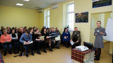 """Dargužių amatų centre vyko konferencija """"Sveikesnis maistas – geresnis gyvenimas"""""""