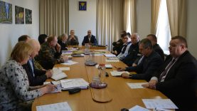 Ekstremalių situacijų komisijos posėdyje aptartos priemonės  koronaviruso grėsmei mažinti