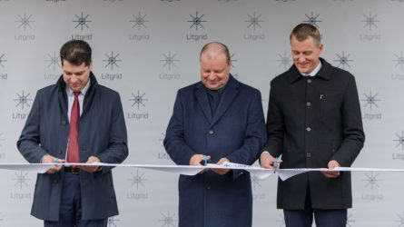 Atidaromas naujasis Lietuvos elektros sistemos valdymo ir duomenų centras