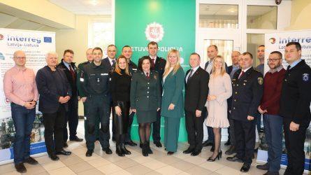 Utenos apskrities policija sėkmingai įgyvendino tarptautinį projektą