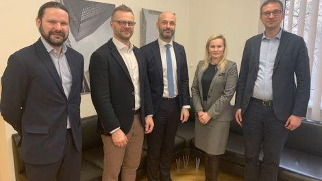 Susitikimas su Europos Tarybos vystymo banko atstovais