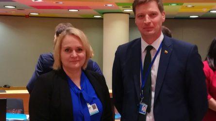 ES šalių aplinkos ministrai – apie Europos žalinimą