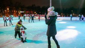Lukiškių aikštėje čiuožinėjo jau 29 tūkstančiai – čiuožykla veiks iki Kovo 11-osios