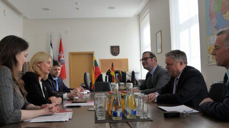 Vidaus reikalų ministrė susitiko su Vokietijos ambasadoriumi