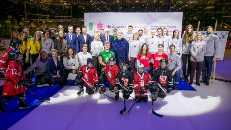 """""""HeForShe"""" projektas: už lyčių lygybę sporte pasisako D. Grybauskaitė, svarbūs sporto visuomenės ir pramogų atstovai"""