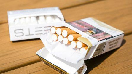 Sulaikyta 21 m. mergina, turėjusi tabako, kuris galėjo būti apipurkštas psichotropine medžiaga