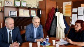Su viceministru – diskusijos apie profesinio ugdymo tinklo pokyčius