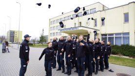 Šiandien Lietuvos policijos mokykloje šventė - mokyklą baigė dar viena Įvadinių mokymo kursų kursantų laida