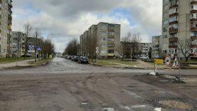 Dėmesio! Bus uždaromas eismas Pavenčių ir Taikos gatvių sankryžoje