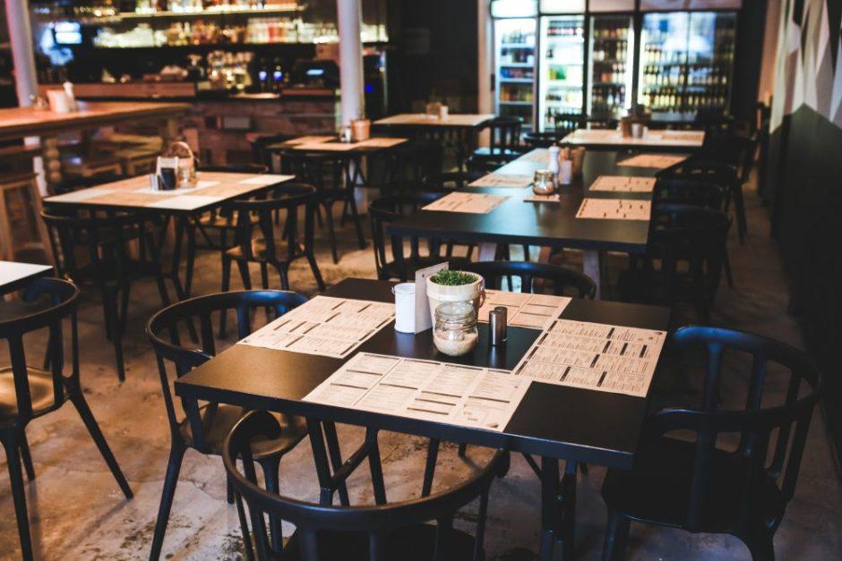Koronavirusas: kavinėms ir valgykloms – rekomendacijos, kaip dirbti