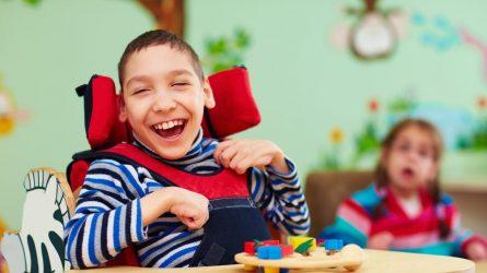 Aktualu tėvams, kurie augina negalią turinčius vaikus