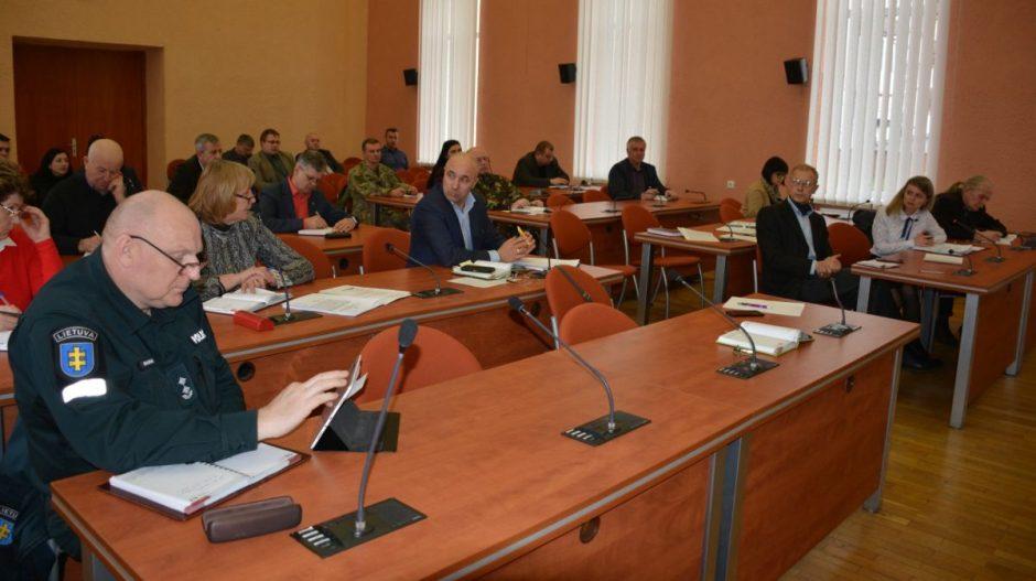 Savivaldybės Ekstremalių situacijų komisija sudarė Ekstremaliųjų situacijų  operacijų centrą