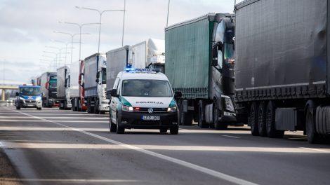 Rita Tamašunienė: pasienio punktas Lazdijai-Ogrodniki jau veikia