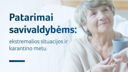 Socialinės paslaugos karantino metu: gyvybiškai svarbūs poreikiai turi būti užtikrinami, neįgalumas ir darbingumo lygis pratęsiamas automatiškai