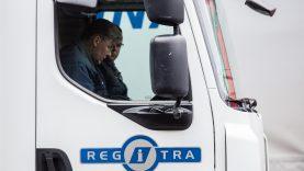 Rastas sprendimas, siekiant užtikrinti transporto priemonių registracijos paslaugas Lietuvos vežėjams