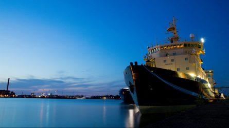 Siekiant apsisaugoti nuo viruso plitimo – specialios priemonės jūrų uoste