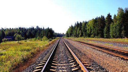 """Specialus traukinys iš Vokietijos – pirma """"Rail Baltica"""" gelbėjimo operacija"""